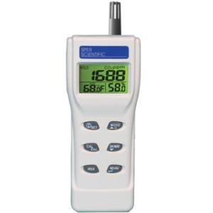 Máy đo CO2, độ ẩm và nhiệt độ không khí 800046 Sper