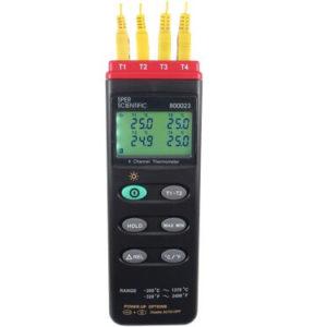 Máy đo nhiệt độ 4 kênh 800023 Sper